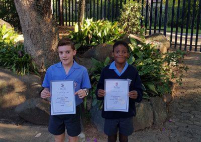 Oliver Delport & Thando Tuko